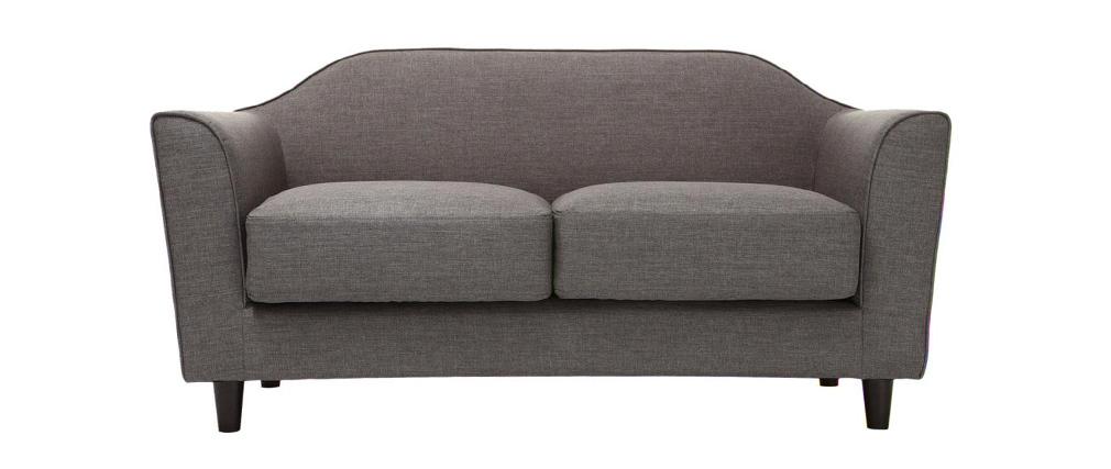 Design-Sofa 2 Plätze Grau SOVHA