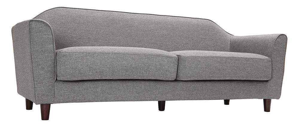 Design-Sofa 3 Plätze Grau SOVHA