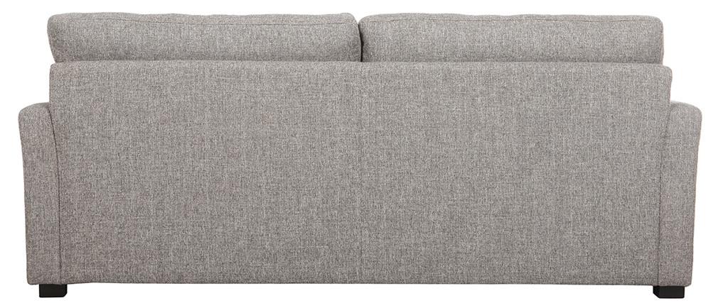 Design-Sofa 3 Plätze hellgrauer Stoff MILORD