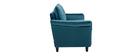 Design-Sofa aus Samt Petrolblau 2 Plätze CLIFF ? Miliboo |1| Stéphane Plaza