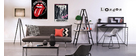 Design-Sofa verstellbar Rot OVE