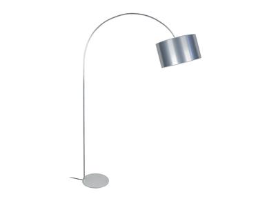 Design-Stehleuchte Bogenlampe Chrom TILT