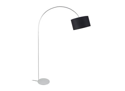 Design-Stehleuchte Bogenlampe Schwarz TILT