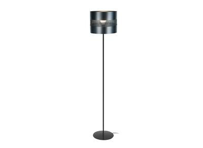Design-Stehleuchte Stahl Perforiert Schwarz CLOVER