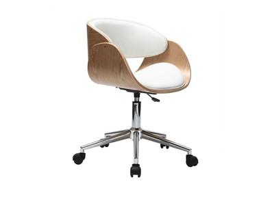 Schreibtischstuhl weiß holz  Bürostühle & Chefsessel online kaufen - Miliboo