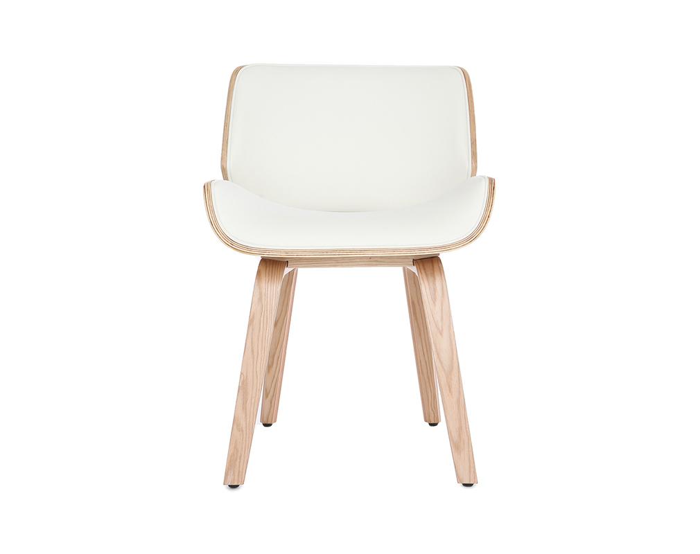 Design Stuhl Weiss