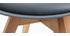 Design-Stühle Grau 4er-Set PAULINE