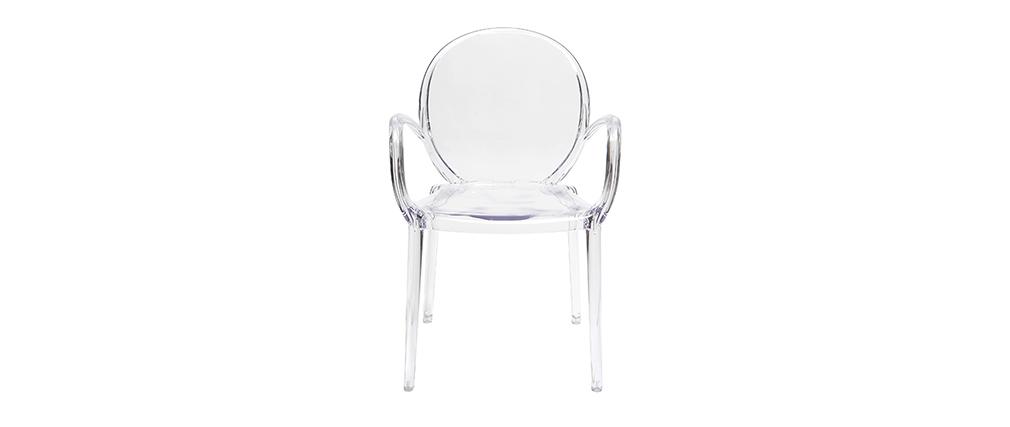 Miliboo 2er Stühle Transparent Cristal Set Design erBdCxo