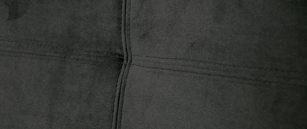 Design-Stühle Velours Schwarz (2er-Set) GAB
