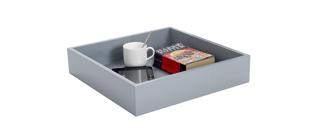 Design-Tablett TEENA Grau