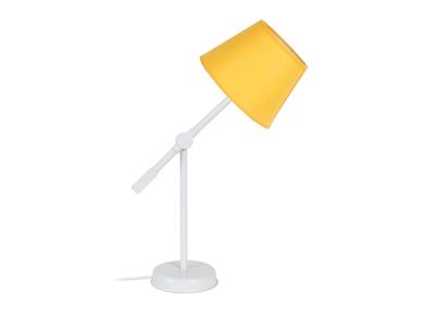 Design-Tischlampe Gelenk Stahl Gelb LUCIO