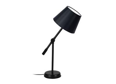 Design-Tischlampe Gelenk Stahl Schwarz LUCIO