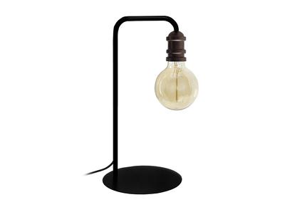 Design-Tischlampe Industriestil Stahl Schwarz PURE