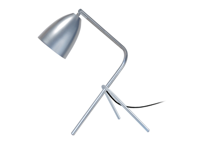 Design-Tischlampe Metall Chrom FRIDAY