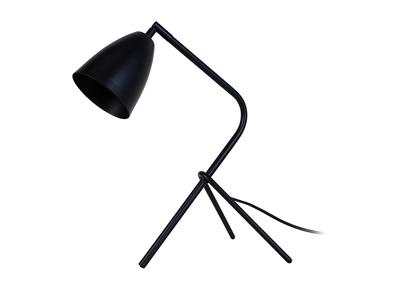 Design-Tischlampe Metall Schwarz FRIDAY
