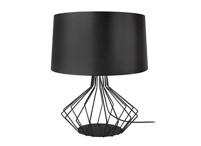 Design-Tischlampe Stahl Schwarz STEMS