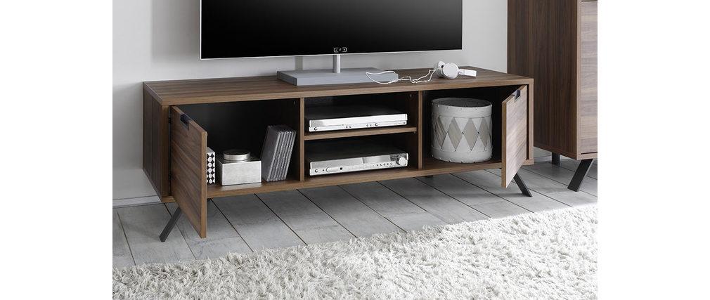Design-TV-Möbel 156 cm Nussbaum ORIGIN