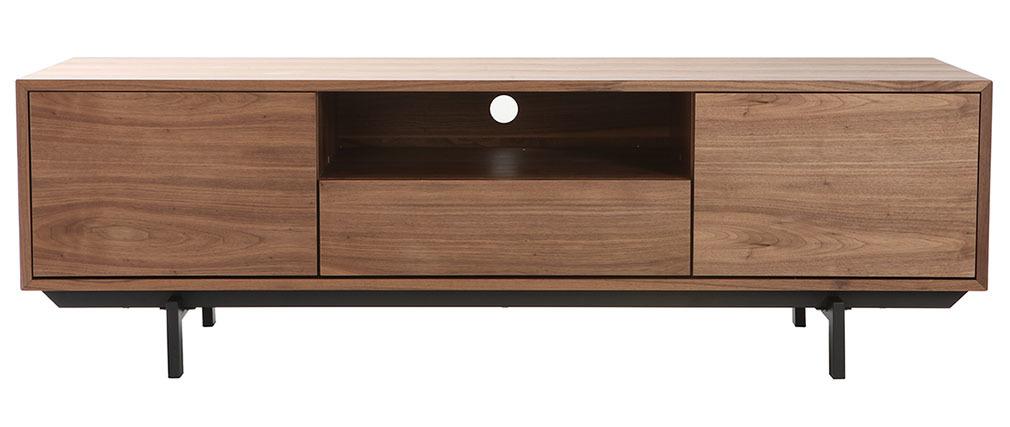 Design-TV-Möbel Vintage 160cm Nussbaum MANNY