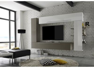 Tv möbel wandsysteme  TV-Wände: unsere Wohnzimmermöbel - Miliboo