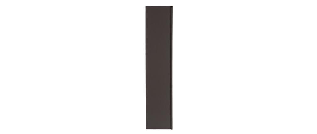Design-Wandelement Grau matt vertikal COLORED V2