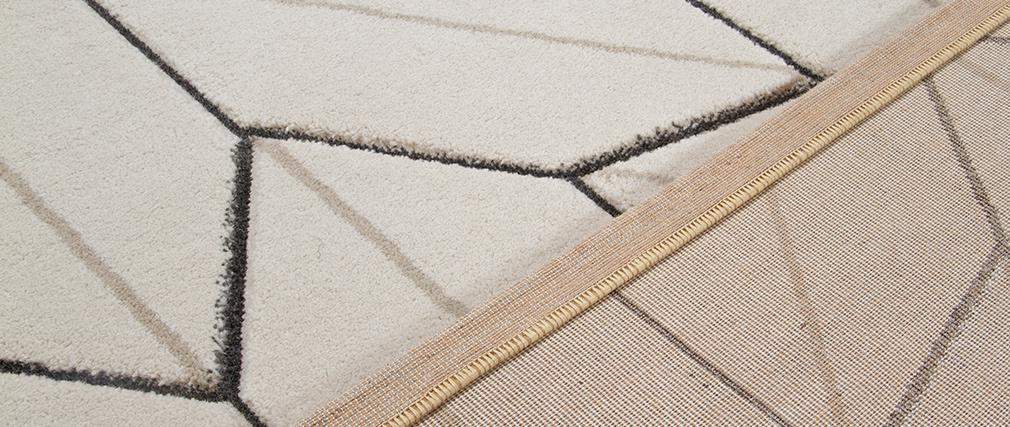 Designer-Teppich beige natur 160 x 230 cm CORN