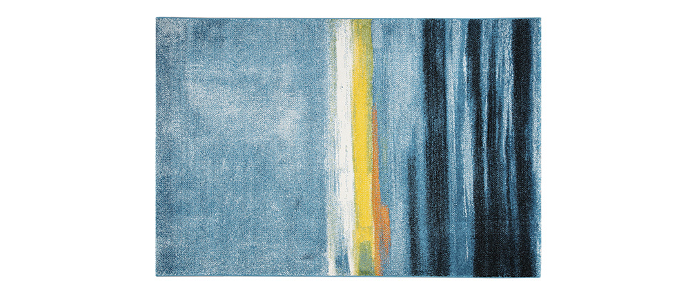 Designer-Teppich multicolor 160 x 230 cm SUNSHINE