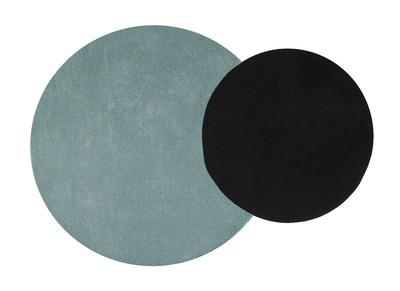 Doppelteppich blau-schwarz 140x200 cm ECLIPSE
