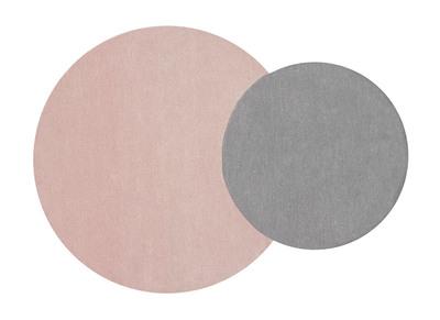 Doppelteppich grau-rosa 140x200 cm ECLIPSE