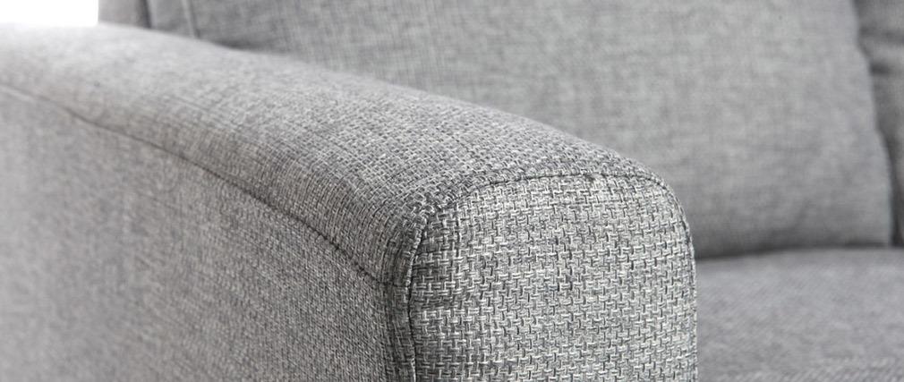 Eck-/Schlafsofa Design Grau ALAMO