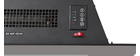 Elektrischer Design-Wandkamin SWIZIA kompakt