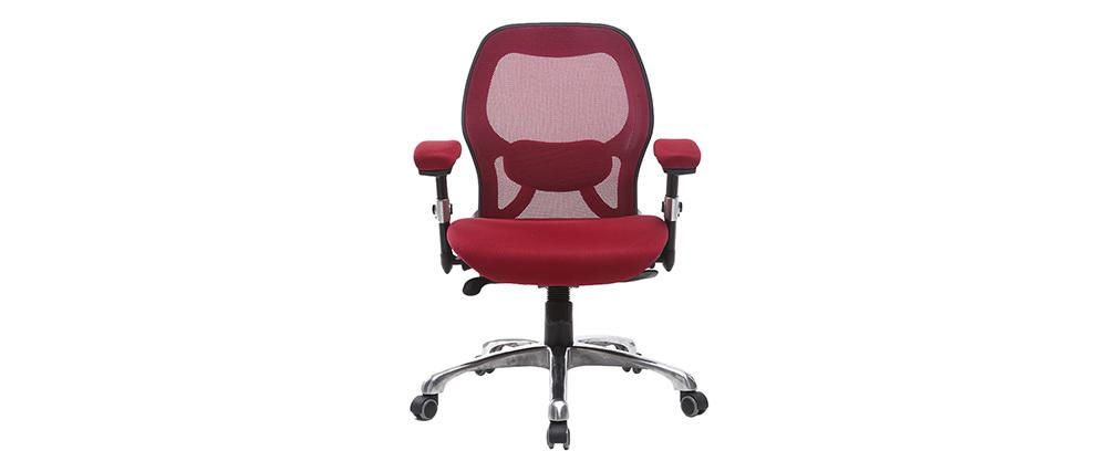 Ergonomischer Schreibtischsessel Rot ULTIMATE V2