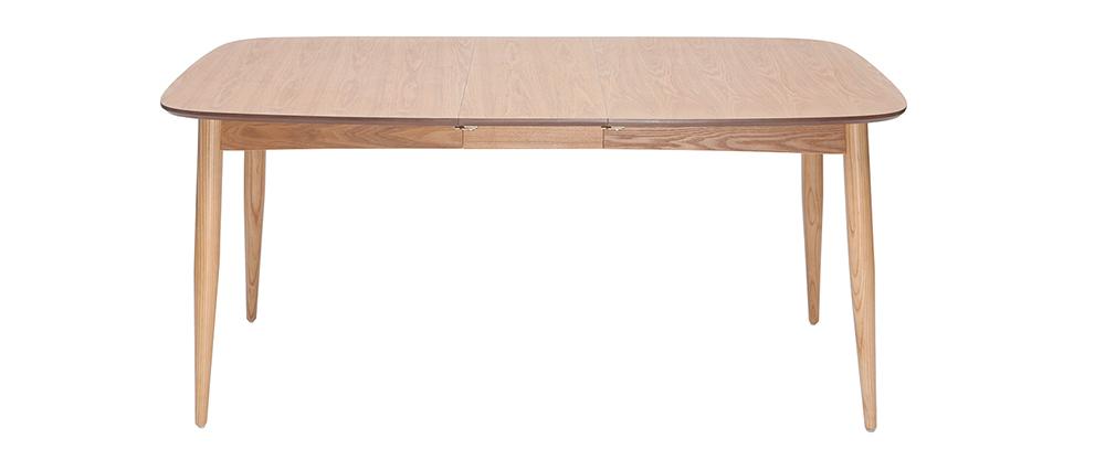 Esstisch ausziehbar Esche Esche Breite 130?190 cm NORDECO