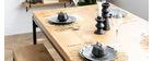 Esstisch im Industrie-Look Mangobaum und Metall L160 YPSTER