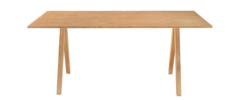 Esstisch skandinavisches design eiche dana miliboo for Esstisch skandinavisches design