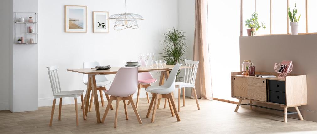 Esstisch skandinavisches Design Eiche DANA