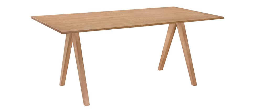 Esstisch skandinavisches Design Eiche  L180 DANA