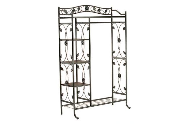 gr ner kleiderst nder tournesol aus metall miliboo. Black Bedroom Furniture Sets. Home Design Ideas