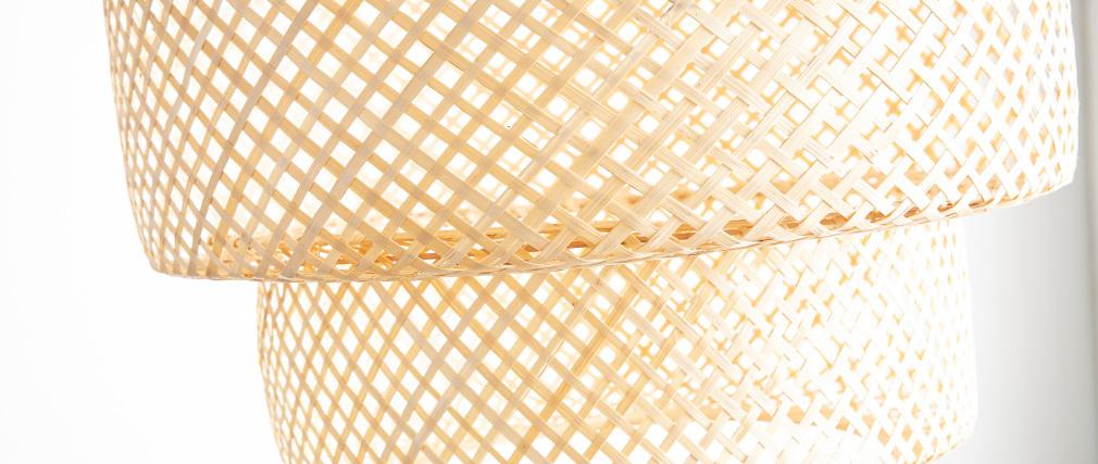 Hängeleuchte Bohème aus Bambus WILD