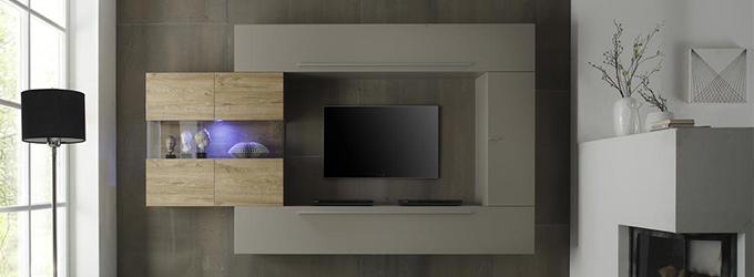 Tv möbel wandsysteme  TV-Möbel: Finden Sie preisgünstige TV-Möbel bunt - Miliboo