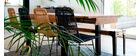 Industrielle Design-Bank Metall und 180 cm MADISON