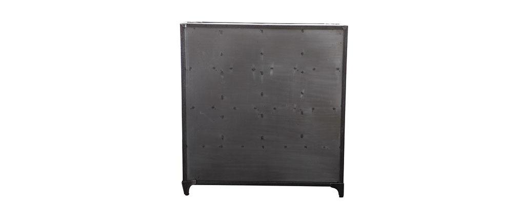 Industrielle Kommode/Schuhschrank aus Metall FACTORY XL