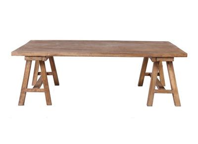 Industrieller Couchtisch Holz ANTIQUA