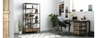Industrieller Design-Container INDUSTRIA aus Massivholz