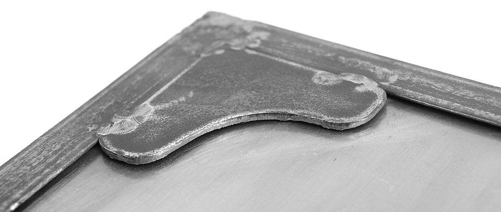 Industrieller Schuhschrank/Kommode Metall FACTORY