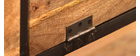 Industrielles Design-Sideboard INDUSTRIA aus Massivholz