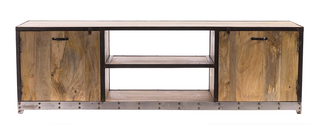 Industrielles Design-TV-Möbel 178 cm INDUSTRIA
