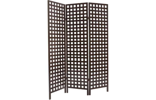 japanischer paravent aus dunklem holz emiko miliboo. Black Bedroom Furniture Sets. Home Design Ideas