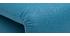 Kaminsessel verstellbar blauer Stoff SLEEPER