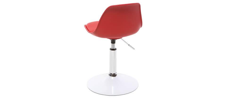 Design schreibtischstuhl  Kinder-Design-Schreibtischstuhl Rot STEEVY - Miliboo