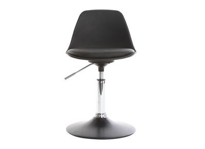 Kinder-Design-Schreibtischstuhl Schwarz STEEVY